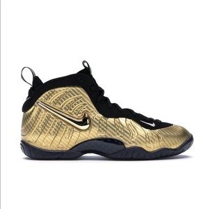 "2017 Air Nike Foamposite Pro ""Metallic Gold"" (GS)"